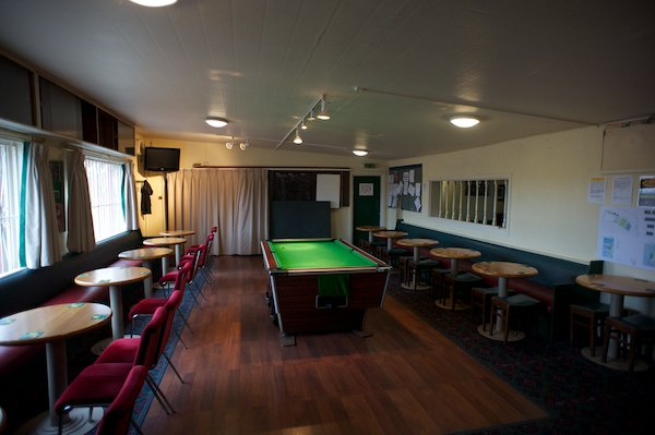 "Harrogate Railway's old CLubhouse ""The Dagger"""