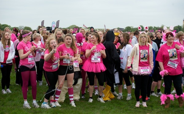 Harrogate Race for Life 2012 on the Stray (2)