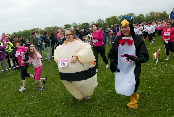 Harrogate Race for Life 2012 on the Stray (8)