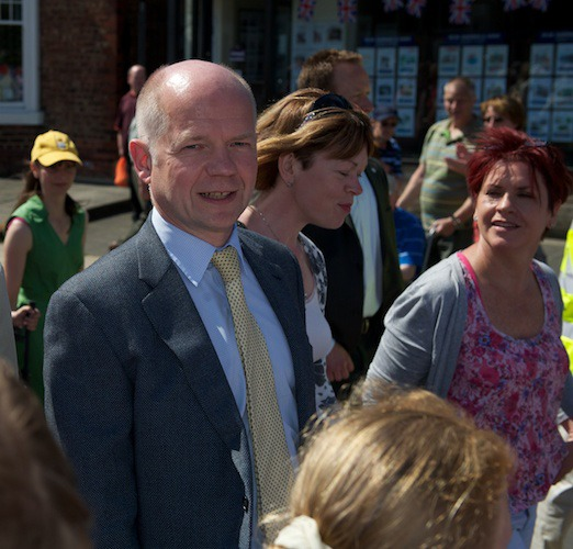 william Hague on the march