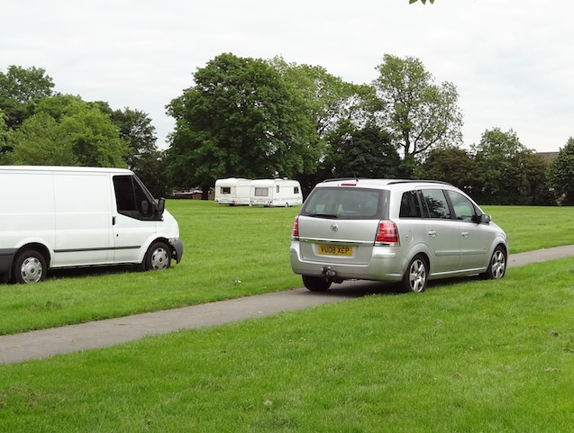 Travellers in Starbeck