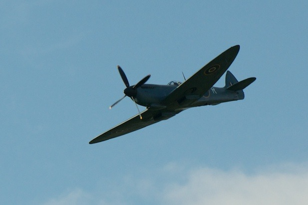 Ripley prom stays sunny with a stunning Spitfire display