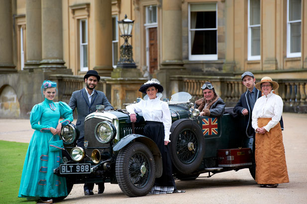 fete 2 Edwardian spectacular for North Yorkshire fundraisers North Yorkshire charity Broughton Hall Anne Wells