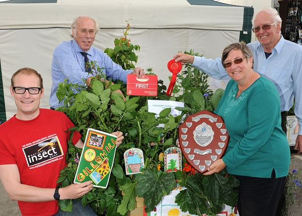 Green fingered pupils scoop top award in Children's Vegetable Garden Competition