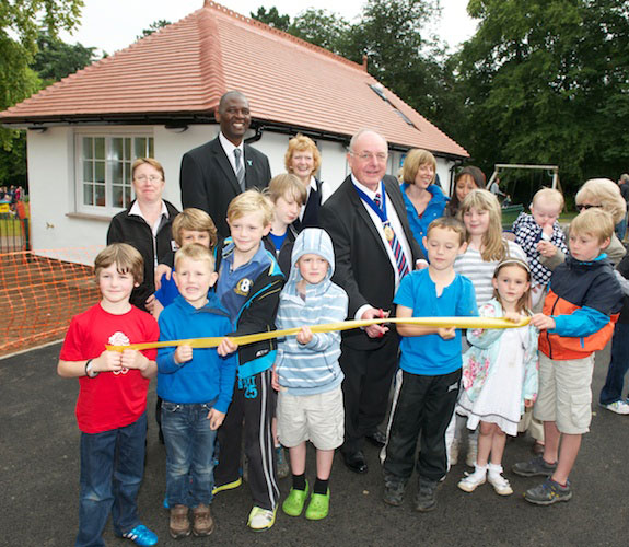 Valley Gardens new Games Pavilion formally opened