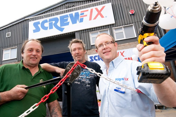 Screwfix opens new trade counter