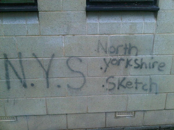 Granby graffiti taggers hunted