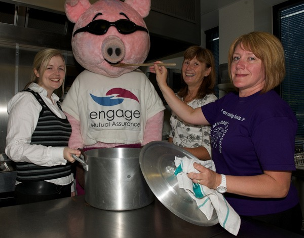 Emma Wells, Sid the Pig Jo Douglas and Jo Heywood
