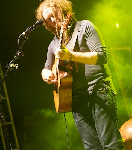 Newton Faulkner at the O2 Leeds