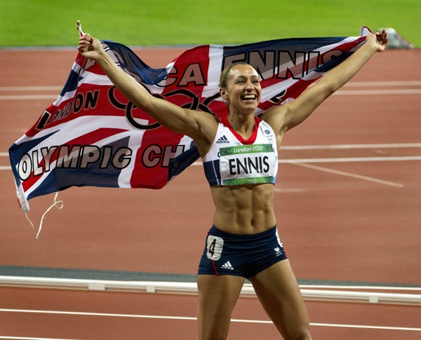 This image of British Olympic star Jessica Ennis entitled Golden Girl by Mark Webster took the camera club's print portrait category award