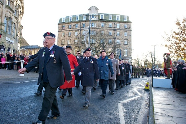 Remembrance Day in Harrogate 2012 (23)
