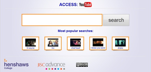 Henshaws College and Jisc launch an accessible YouTube website