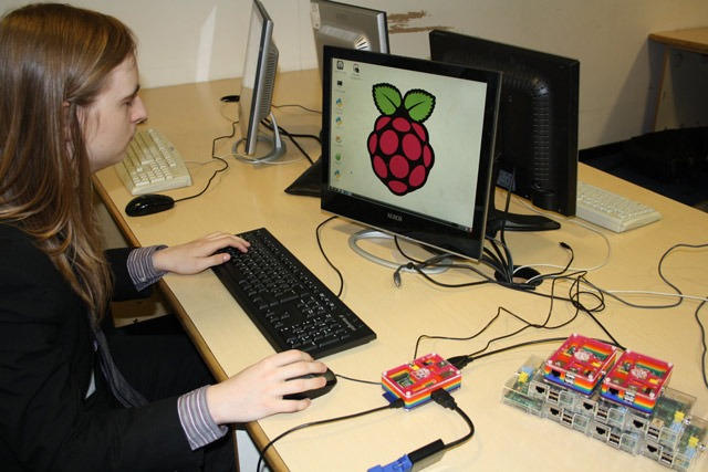 Generous donation to Harrogate Grammar buys a set of Raspberry Pis