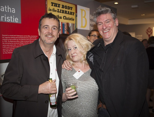 Authors Mark Billingham, Laura Wilson, Martyn Waites