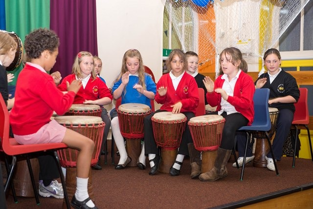 Starbeck Primary School drums