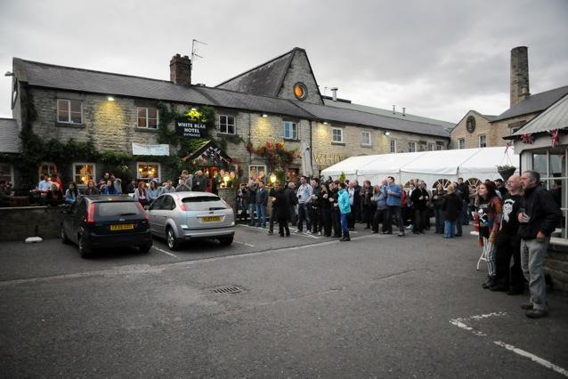 Masham's White Bear Hotel Is Tapped, Vented And Ready To Go For It's Annual Music And Beer Festival