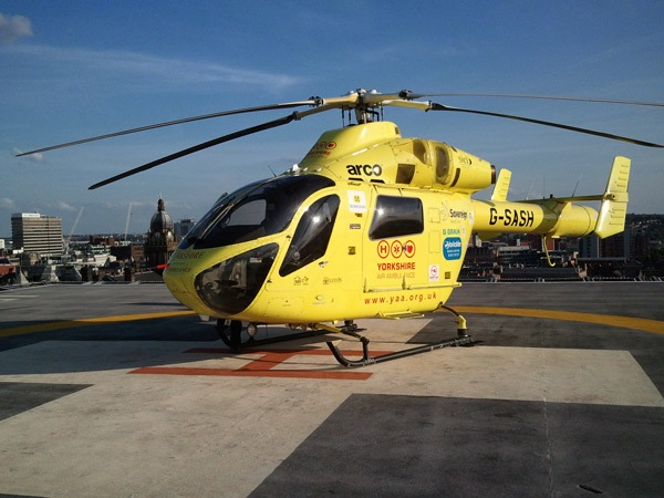Make a splash for Rotary and help Yorkshire Air Ambulance and to end polio