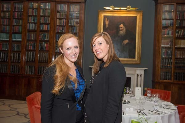 Charlotte Wilby, Business Development Manager at Rudding Park and Rebecca Towell from Logistik