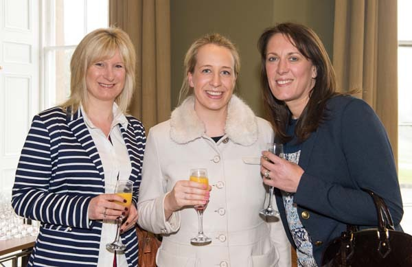Sally Brown and Claire Ellis-Tope from Just Venues with Lucy Cartlidge from Bettys