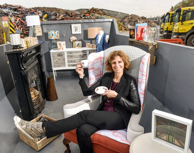Remade-in-BritainFounder-Donna-Fenn-in-the-'Skip-Room'---press