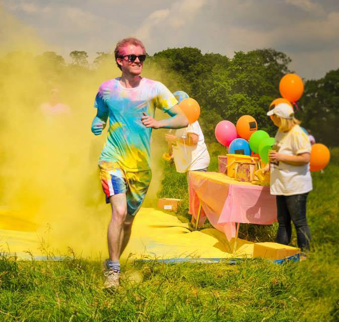 Countdown to Colour Rush – competitors in last year's event