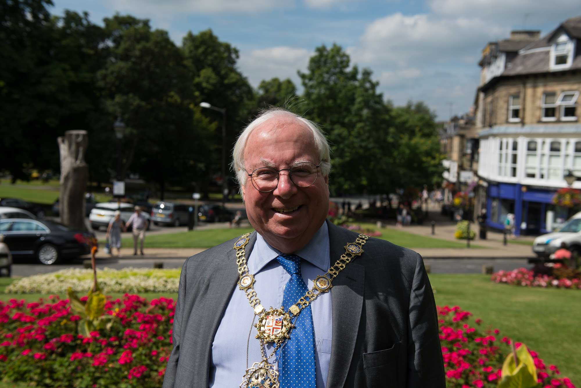 The Mayor of Harrogate, Councillor Nick Brown