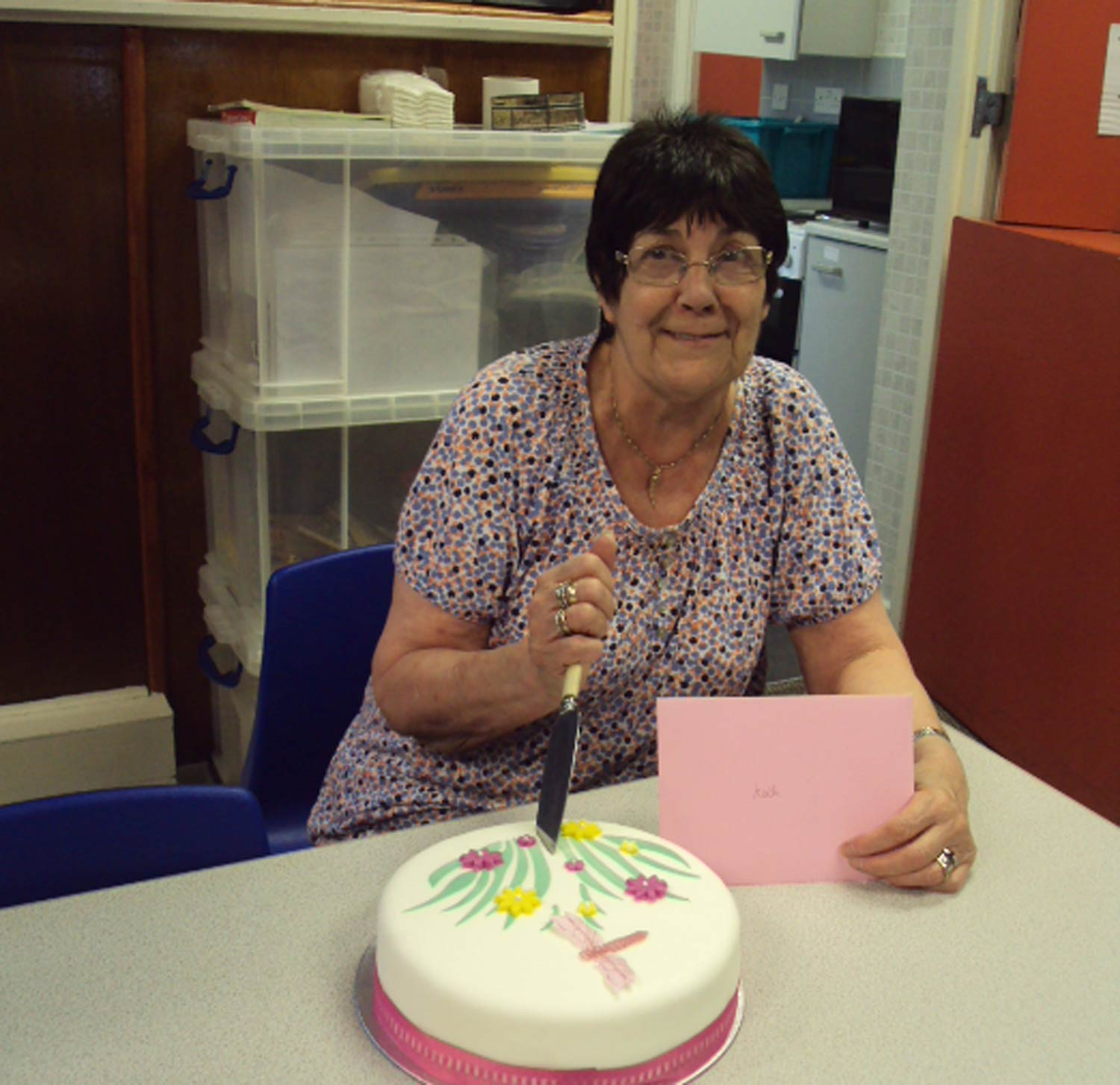 Kath O'Brien long-standing member of  Ripon YMCA retires