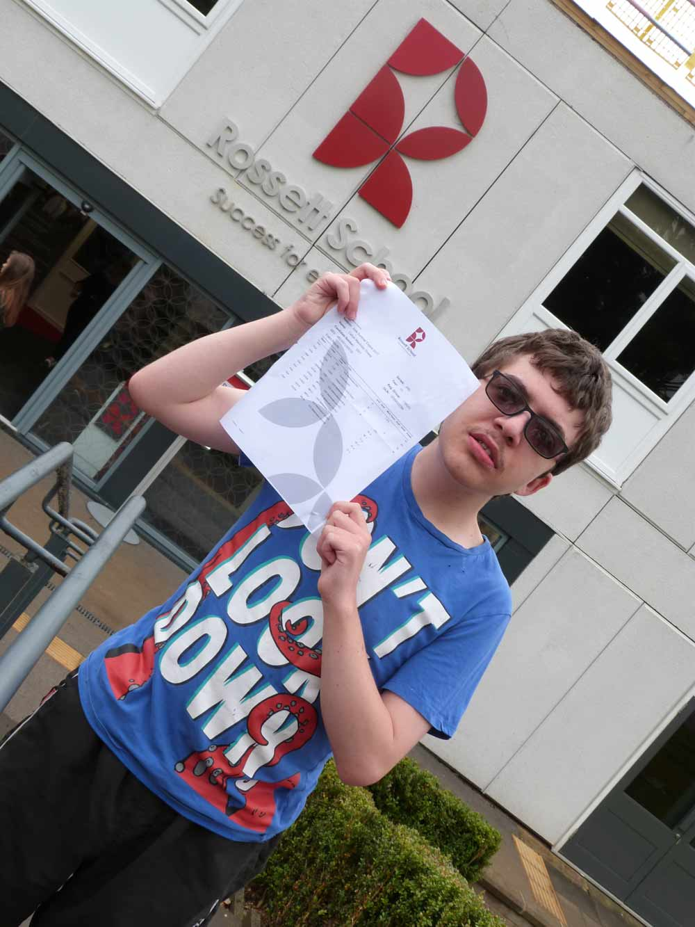 Callum Downs has achieved AAB grades in his A levels, despite facing medical conditions and operations while he was studying at Rossett School