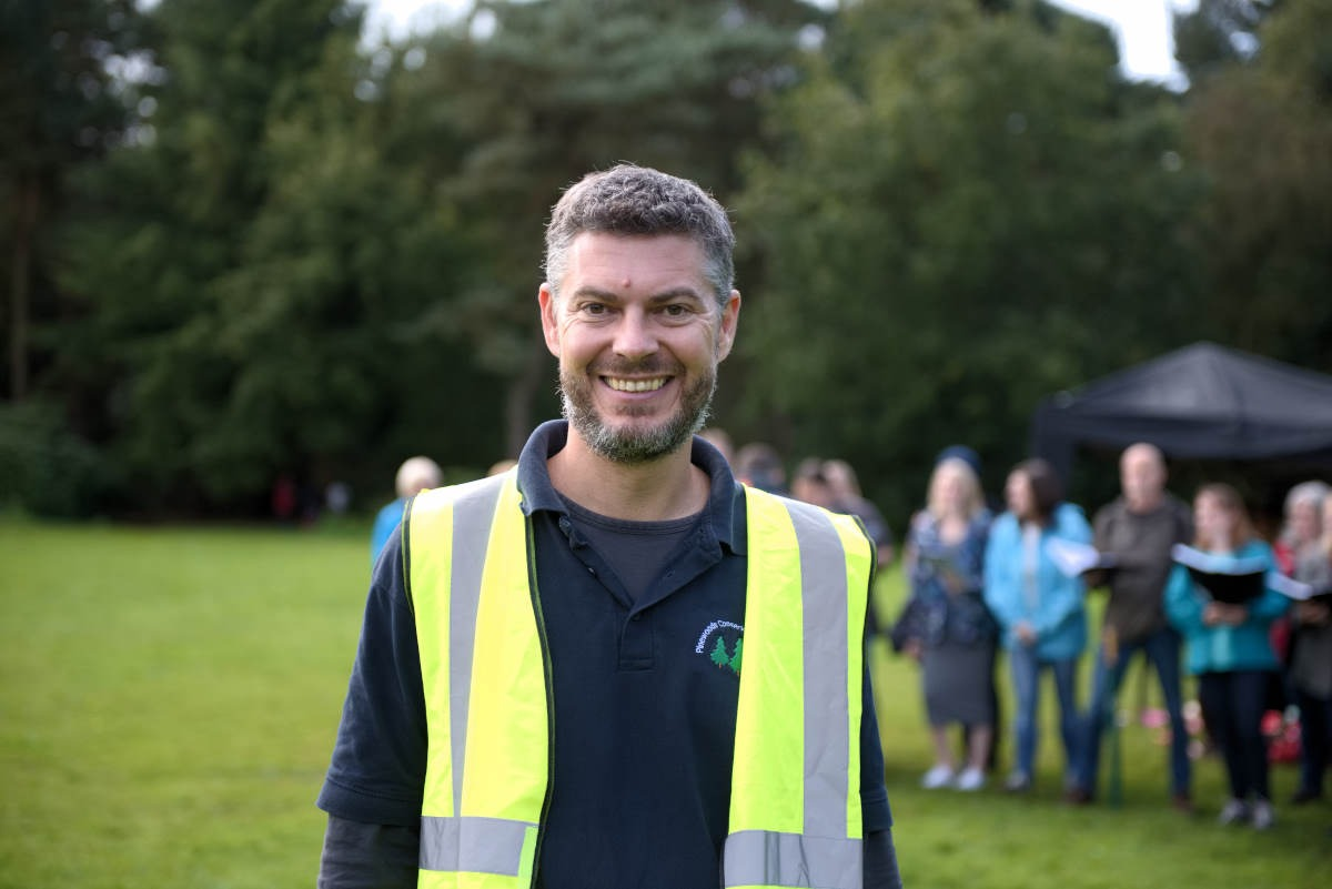 Neil Hind, Chair of Pinewoods Conservation Group