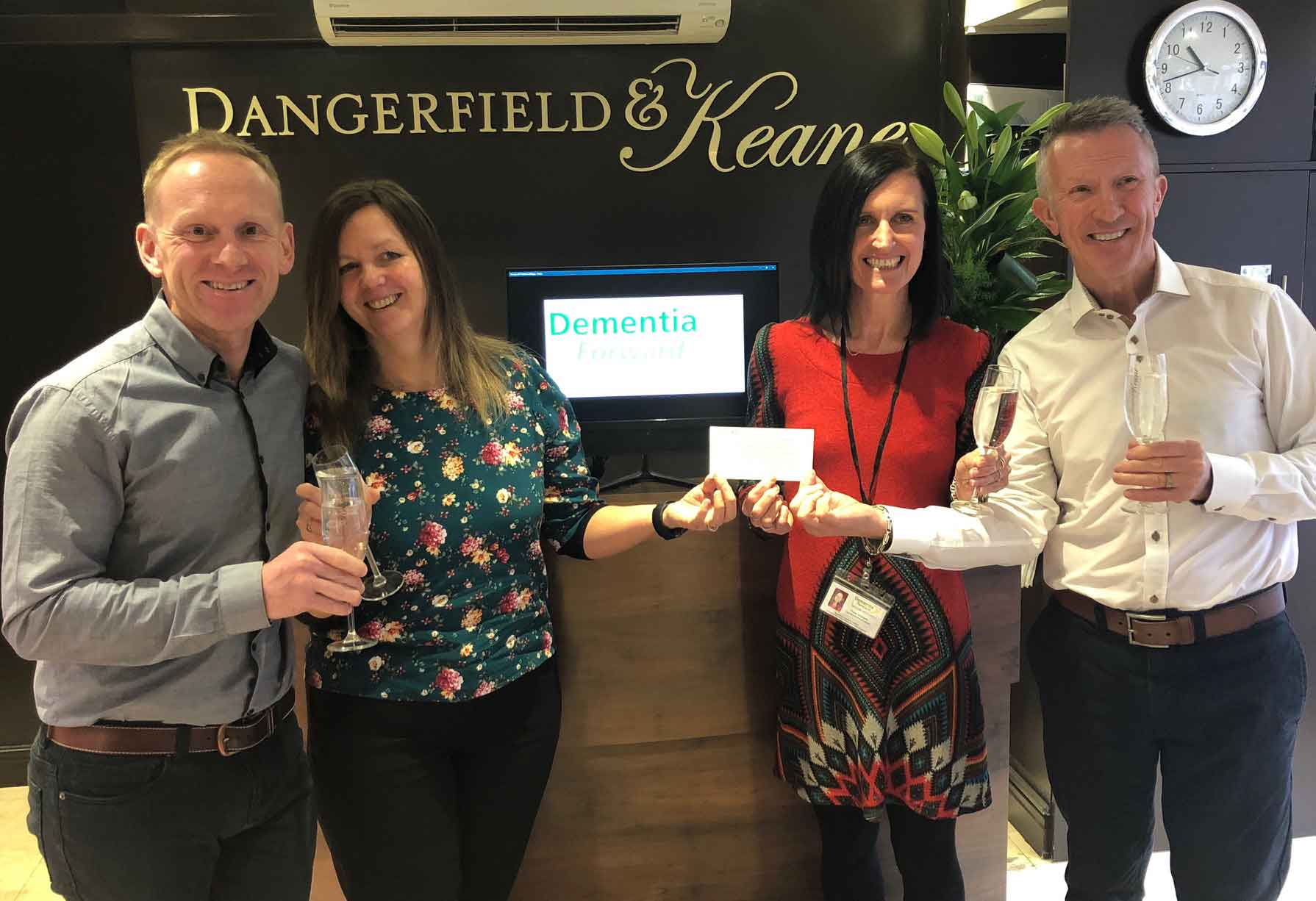 Dangerfield & Keane marks a decade in Harrogate by becoming the first dementia friendly salon