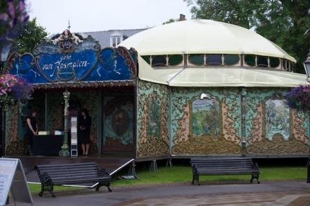 Spiegeltent in Harrogate