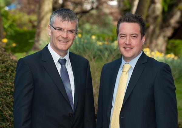 Martin Holden and Jonathan Davis