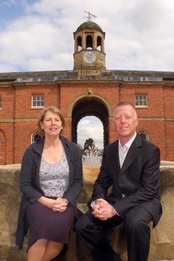 Eleanor Sharp, The Stables, Newby Hall, Paul Crane, Business Development Director, NYnet