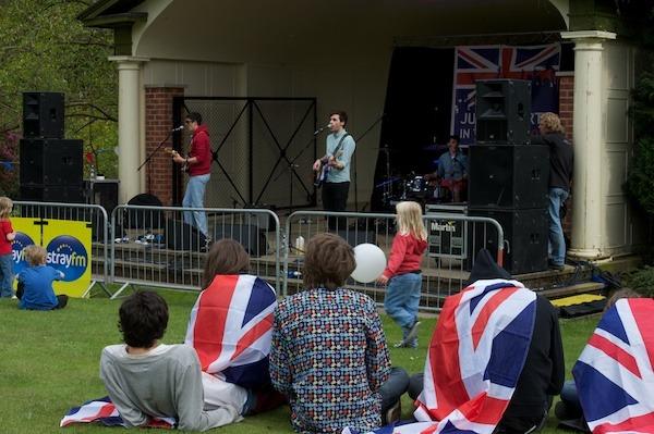 Jubilee Party in the Park 2012  in Valley Gardens Dukes of Bevington Scott Quinn