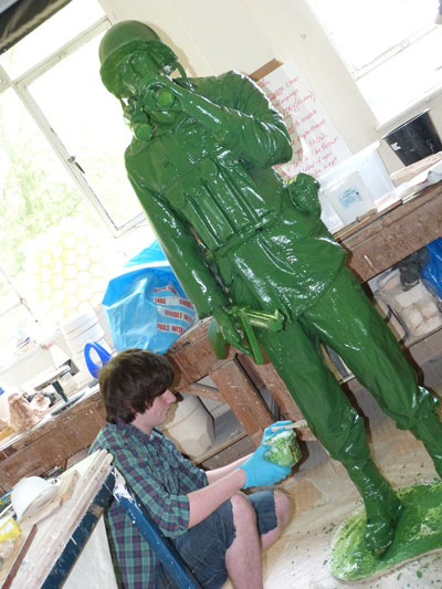 Artists showcase collections at Harrogate College