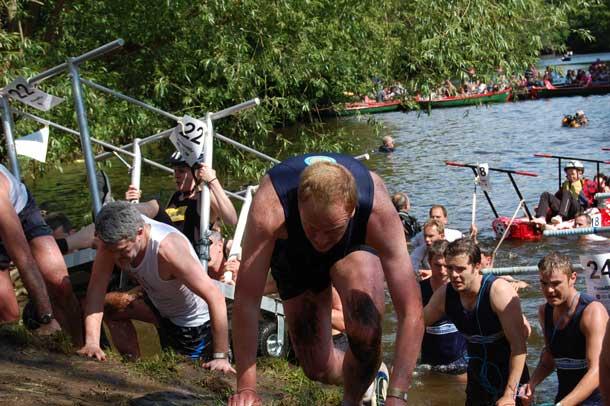 The Great Knaresborough Bed Race
