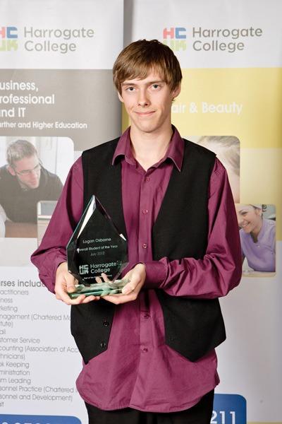Student of the Year category Logan Osborne