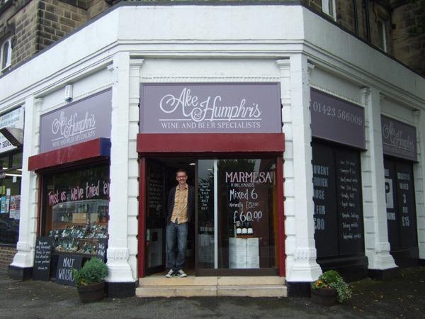 Manager and wine buyer, Stuart Goddard