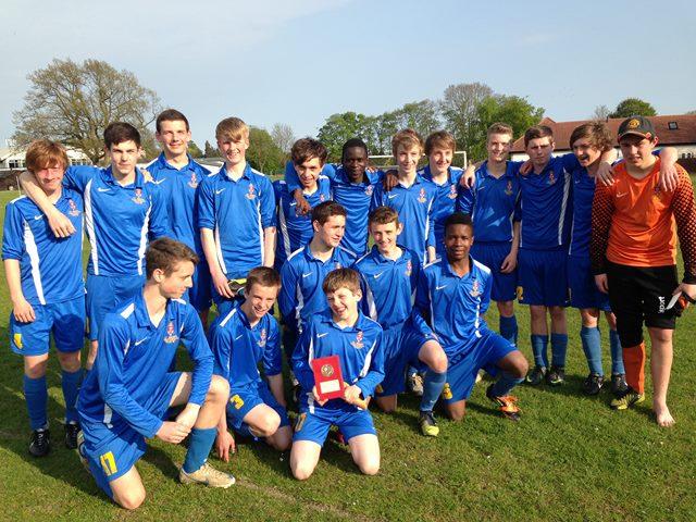 Y10 Harrogate & Craven area champions