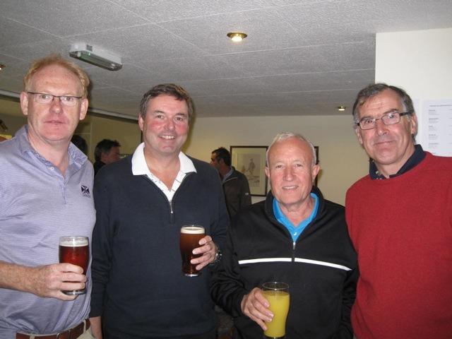 David Brackenridge, Peter Baldwin, Peter Lund and David Brayshaw