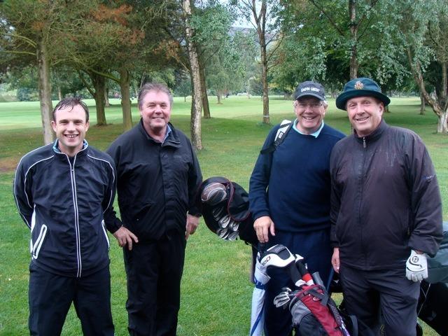 Edward Binks, Martin Joyce, Anthony Flather and Chris Flather