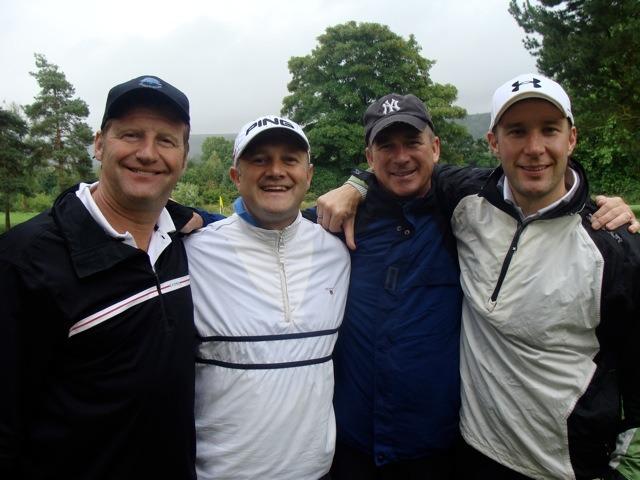 Graeme Lee, Simon Myring, Nigel Friskney and Tim Archer