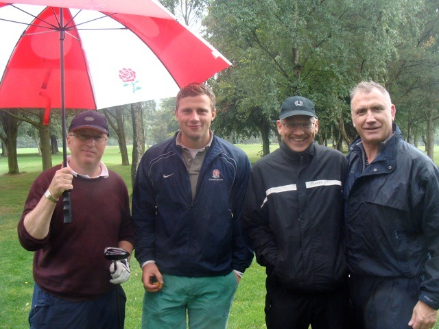 Richard Hanen, George Dawson, Cameron Fraser and Richard Anderson