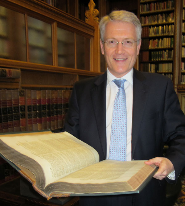 Andrew's entry to the 'Extreme Reading' project; a dusty tome from the House of Commons library