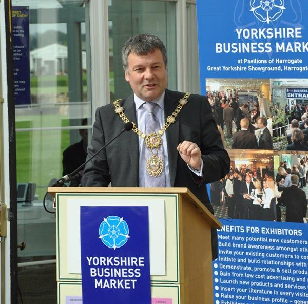 Mayor of Harrogate, Coun Michael Newby