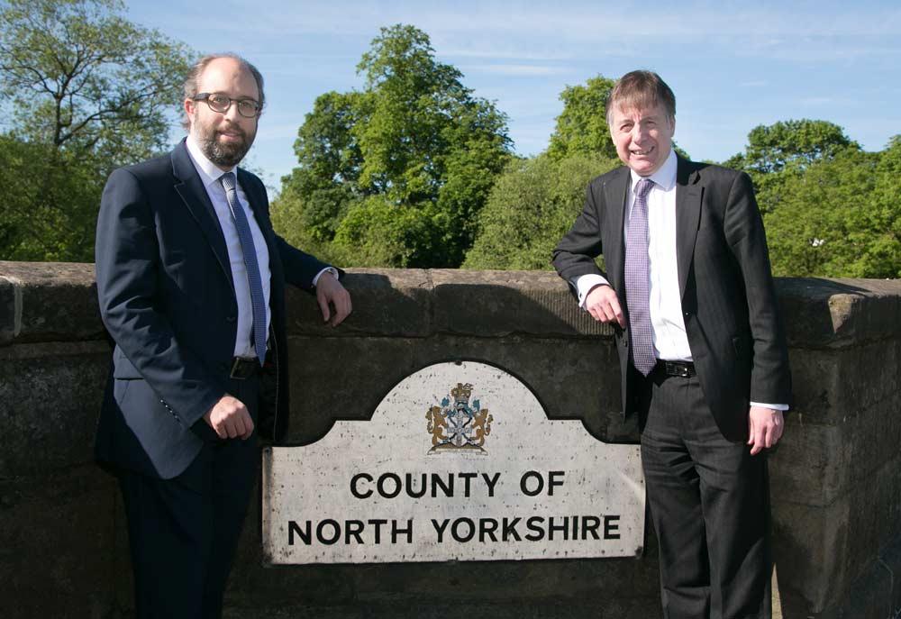 Simon Allen, left and Neville Baldry of Clive Owen LLP right