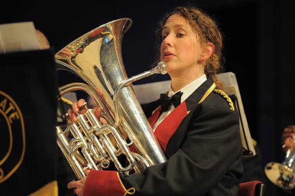 Catherine Morland, Chairman of the The Harrogate Band