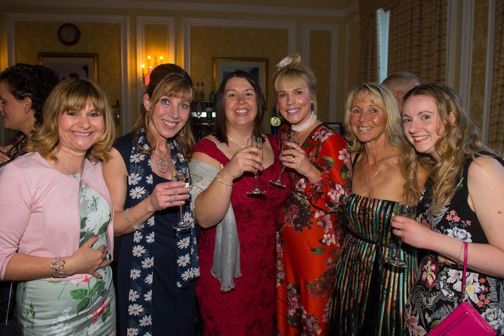 Debbie Argent, Sybil Sullivan, Brenda Mckenzie, Jess Thackwray, Kath Donnelly and Laura Smith