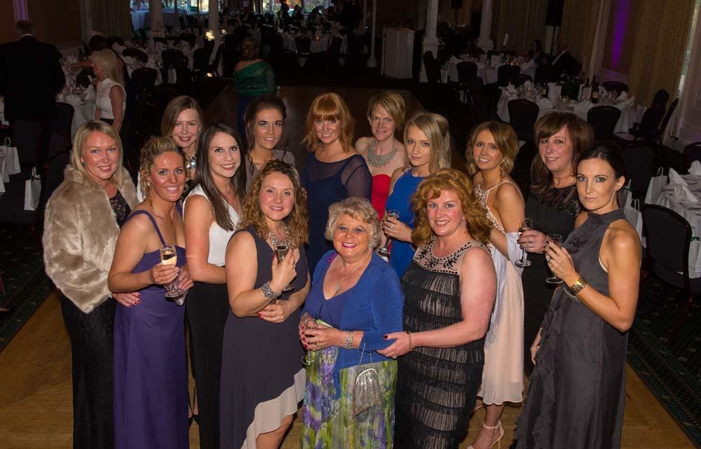 The Beauty Shop, Boroughbridge: Friends and Colleagues from the Beauty Shop, Boroughbridge, join the fun