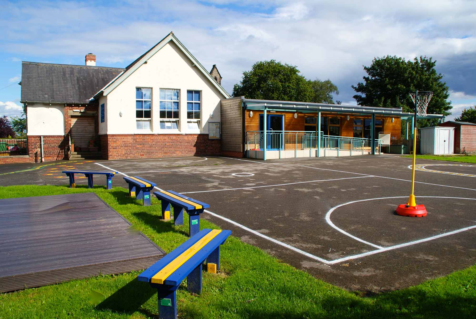Sicklinghall CP School officially opened its Breakfast Club at the beginning of the new term